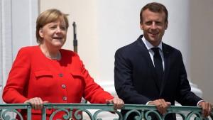 Merkel und Macron einig über EU-Budget