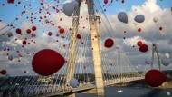 Auch von der EU kofinanziert: die Yavuz-Sultan-Selim-Brücke in Istanbul