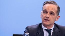 Maas: Waffenruhe soll zu Waffenstillstand werden