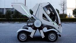Elektroauto zum Einklappen