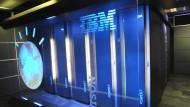 Das Computersystem Watson soll Patientendaten analysieren.