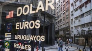Argentinien schränkt Devisenhandel ein