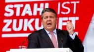 Vorbehalte gegen Kanzlerkandidatur von Gabriel
