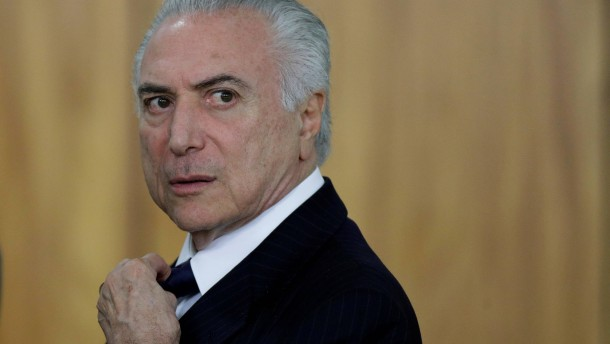 Brasiliens Präsident wegen Korruption angeklagt