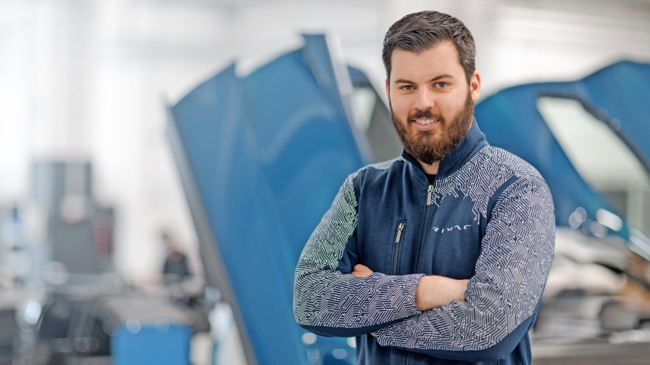 Der europäische Musk? Der Kroate Mate Rimac will kein Missionar fürs  Elektroauto sein, Europas Fahrzeugbauer stehen vor seiner Tür trotzdem Schlange.
