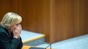 Hannelore Kraft findet späte klare Worte