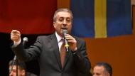 Wollte in Hannover Wahlkampf für seine Partei machen: der AKP-Vize Mehmet Mehdi Eker