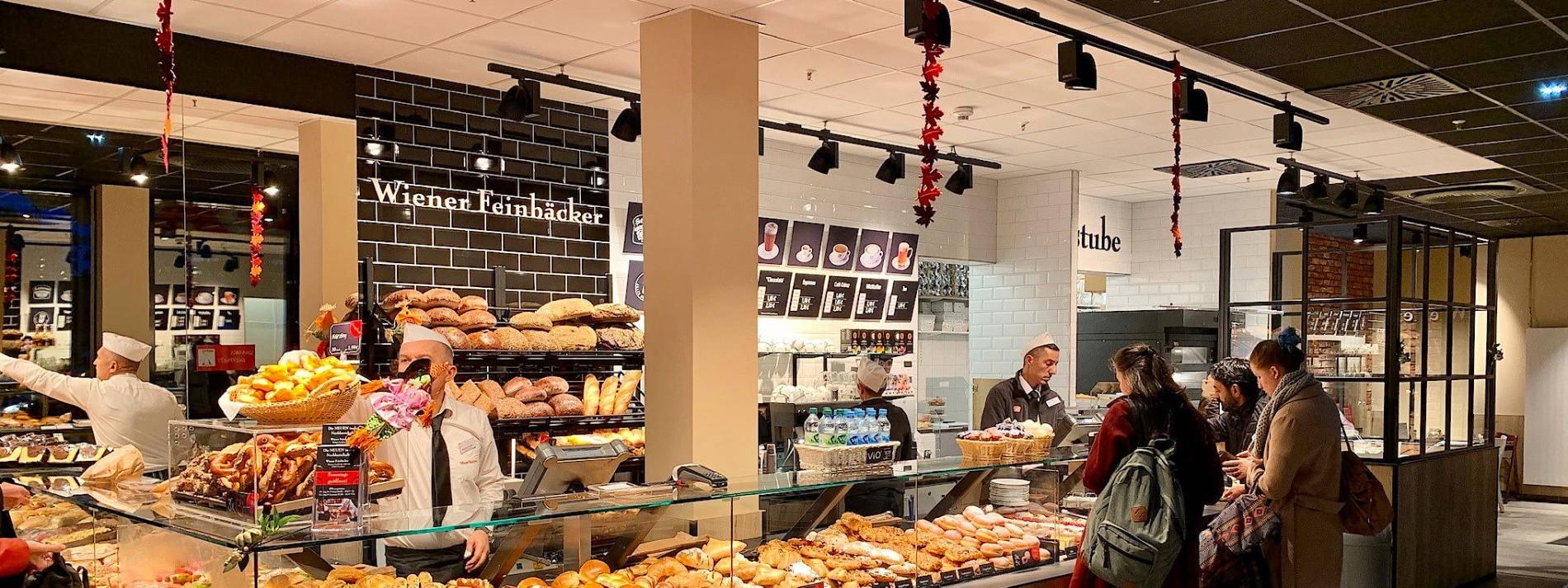 Bäckerläden in Erlebnis-Backräume