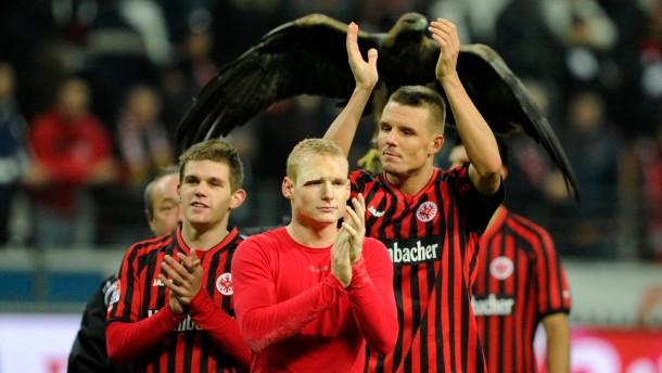 Eintracht Frankfurt macht Tempo