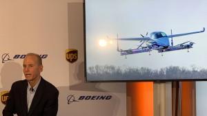 Boeing lässt das erste Taxi fliegen