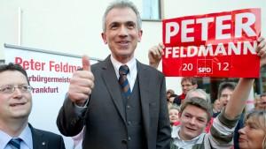 Feldmann neuer Rathauschef von Frankfurt