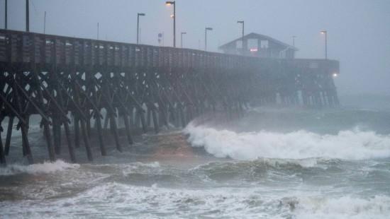 """Hurrikan """"Isaias"""" fegt über amerikanische Ostküste hinweg"""