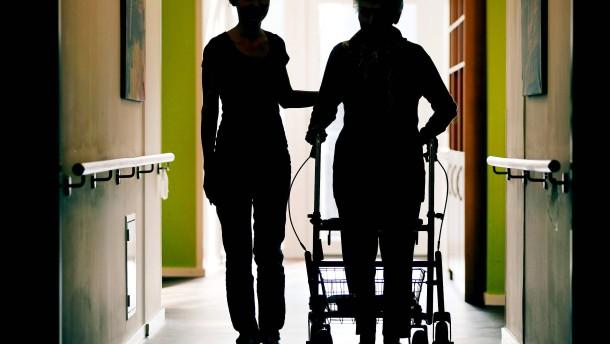 Alte Menschen nicht einsperren