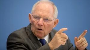 Schäuble streitet sich mit 16 Regierungschefs