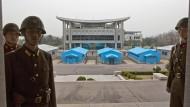 Nordkoreanischer Soldat nach Flucht im Krankenhaus