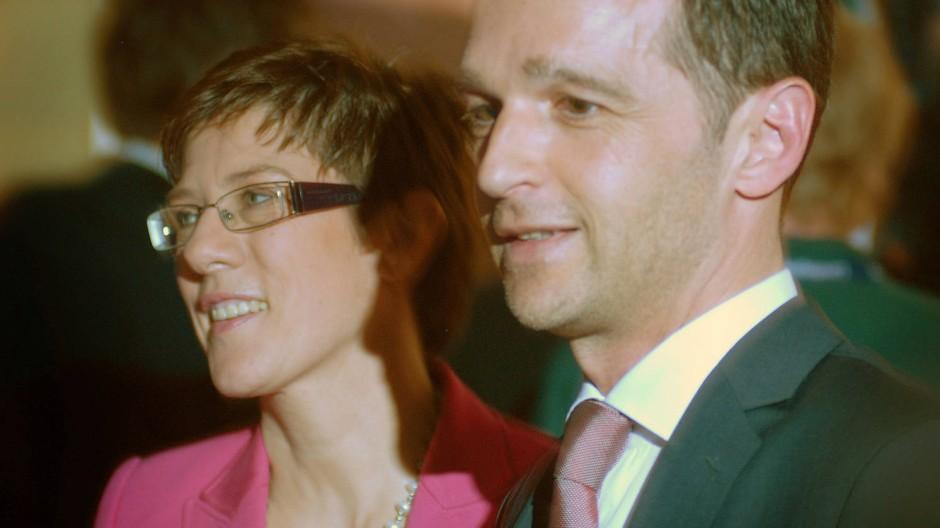 Annegret Kramp-Karrenbauer und Heiko Maas