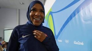Amerikas Frau mit dem Hidschab