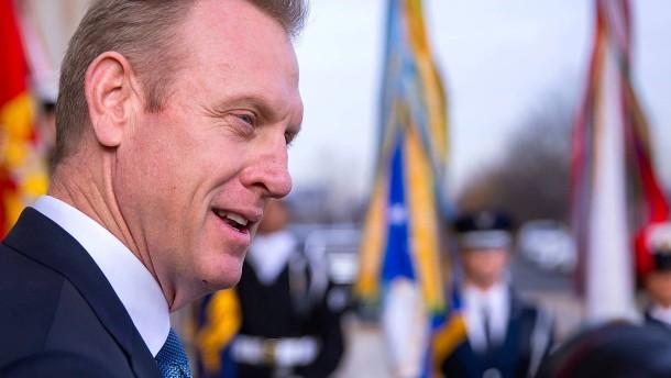 Trump ernennt kommissarischen Verteidigungsminister