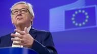 Merkel und Juncker zum Brexit