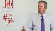 Jeb Bush macht Steuerunterlagen aus 33 Jahren öffentlich