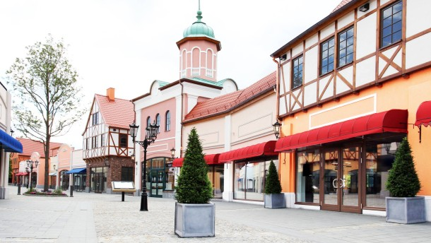 Das Center als Dorf