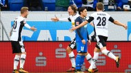 Gladbach dreht das Spiel bei 1899 Hoffenheim und gewinnt 3:1.