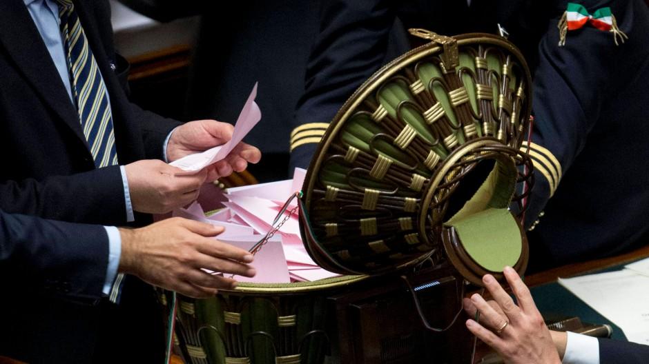 Prodi verfehlt Mehrheit bei Präsidentenwahl