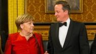 Merkel macht sich für EU-Verbleib Großbritanniens stark