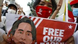 """Aung San Suu Kyi wird der """"Aufwiegelung"""" angeklagt"""