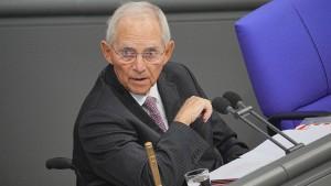 """Schäuble appelliert an Bundestag: """"Widerspruch zulassen"""""""