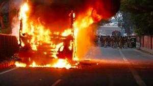 Unruhen in Indien weiten sich aus