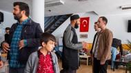 Begegnung in der Teestube der Hagener IGMG-Moschee