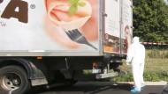 Mehr als 70 Tote in Schlepper-Lastwagen