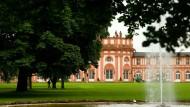Die Natur sorgt zwar schon von sich aus für viel Grün im Biebricher Schlosspark, gleichwohl findet dort am Wochenende eine Biogartenmesse statt.