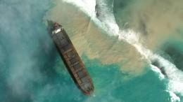 Ausgelaufenes Öl sorgt für Umwelt-Notstand in Mauritius