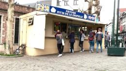 Glitzer für Belgische Pommes