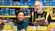 Behalten den Überblick: Monika und Bernd Schauss haben mit Ruhestand noch nichts im Sinn.