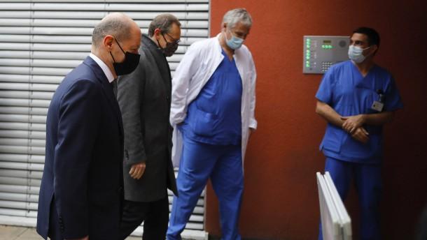 Intensivstationen füllen sich wieder mit Corona-Patienten
