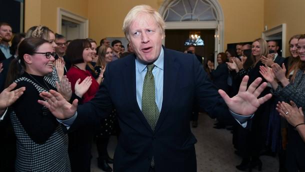 Wer Brexit wollte, wählte Boris