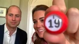 William und Kate auf Bingo-Besuch