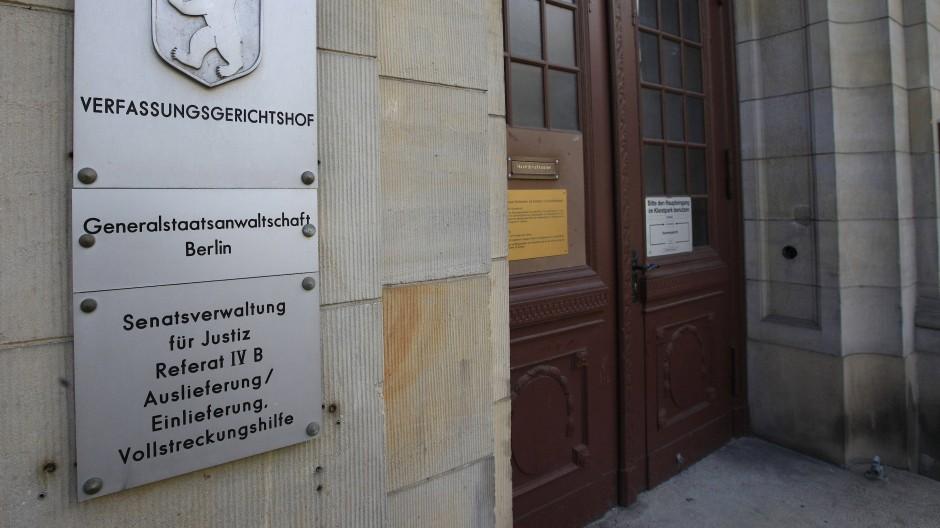 Die Generalstaatsanwaltschaft in Berlin