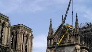 """Ist Notre-Dame """"fast gerettet""""?"""