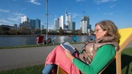 Schmuddeliges Oktober-Wochenende löst Bilderbuch-Herbst ab