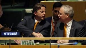Italien und Niederlande wollen Sicherheitsratssitz teilen