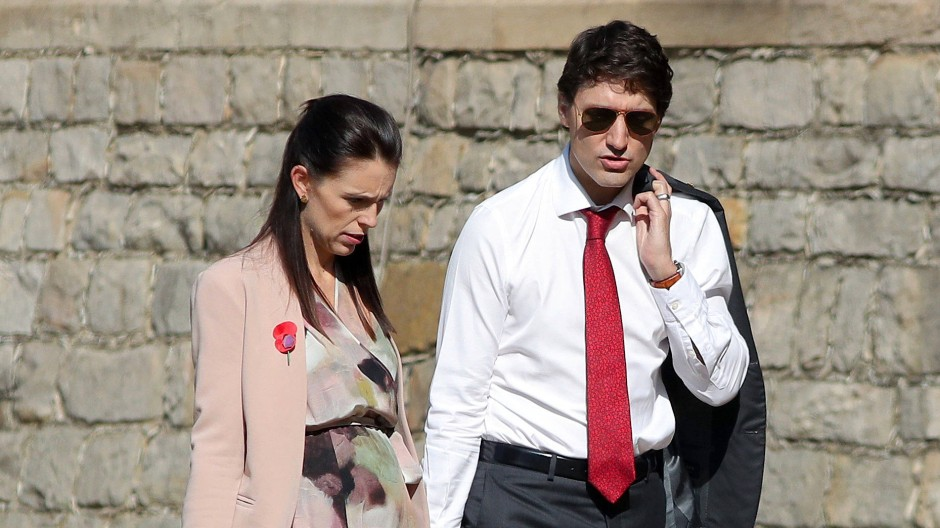 Shootingstars der internationalen Politik: Jacinda Ardern und Justin Trudeau.