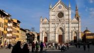 Die Franziskanerkirche Santa Croce im vergangenen April
