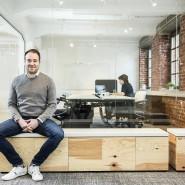 Loftig: Maximilian Faust leitet die Start-up-Zentren der Hochschule Fresenius.