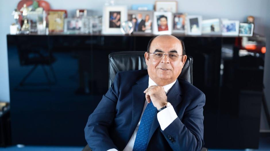 Ismet Koyun in seinem Büro in der Unternehmenszentrale von Kobil Systems