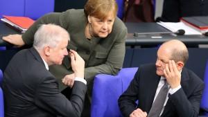 SPD zieht im Rentenstreit rote Linie
