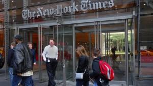 """Apple streicht """"New York Times"""" aus App-Store in China"""